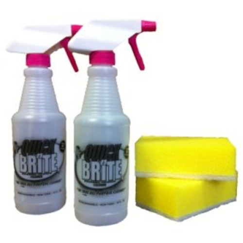 quick n brite refill bottles and sponges
